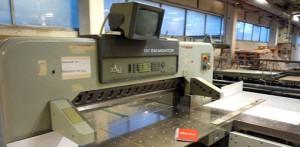 резак для бумаги Polar 137 EM-MONITOR, 1993 год выпуска