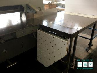 откидные столы с поддувом, с покрытием Resopal (Polar 155 EMC-Monitor)