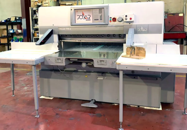 """used paper cutter Polar 115 X (15"""" colour monitor)"""