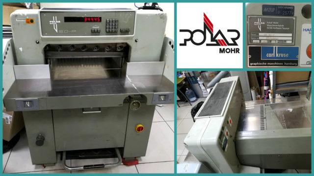 різалка для паперу Polar 55 SD-P (1988)