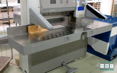 бумагорезальная машина Полар 78 ES (б/у)
