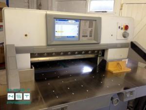 бумагорезательная машина Polar 92X (хромированный стол)