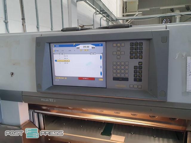 бумагорезательная машина Полар 92X (2005 г.в.)