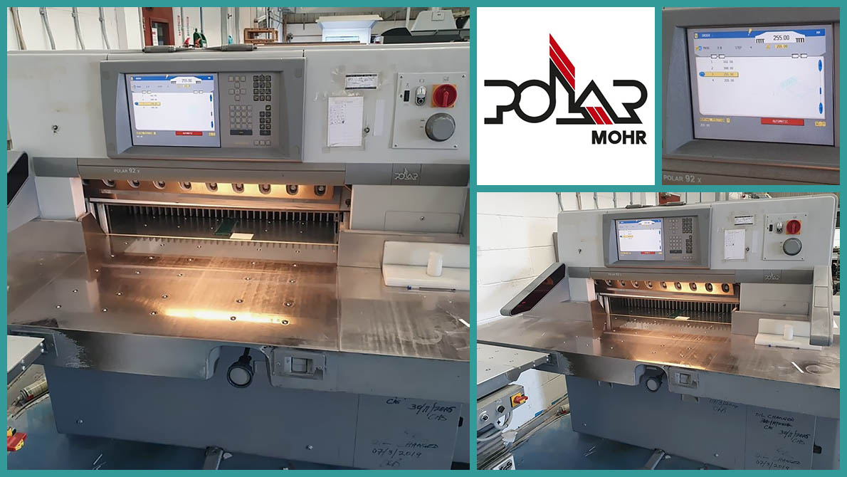 used paper cutter Polar 92 X (2005 год)