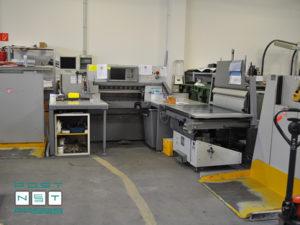 бумагорезательная линия Polar 92X, Polar RA-4, Polar LW 1000-4 (2010 г. в.)
