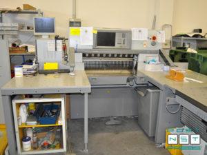 одноножевая бумагорезательная машина Polar 92 X, 2010 год выпуска