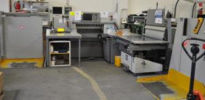 бумагорезательная линия Polar 92X, Polar RA-4, Polar LW 1000-4, 2010 год выпуска