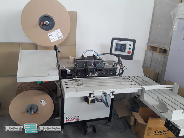 переплетная wire-O машина Renz AUTOBIND 500 HS (2010 год)