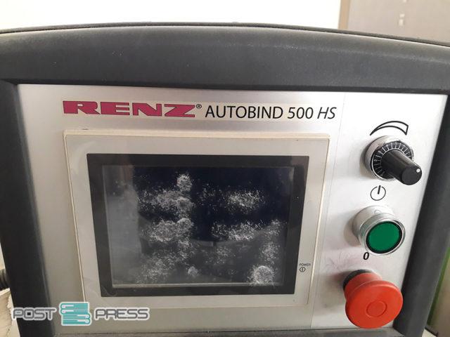 автоматические настройки с пульта Renz AUTOBIND 500 HS, б/у