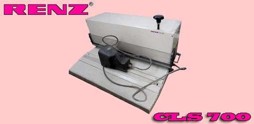 wire-o обжимка Renz CLS-700