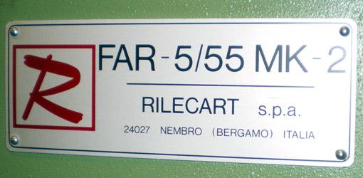 автоматический календарный перфоратор Rilecart FAR-5/55 MK 2