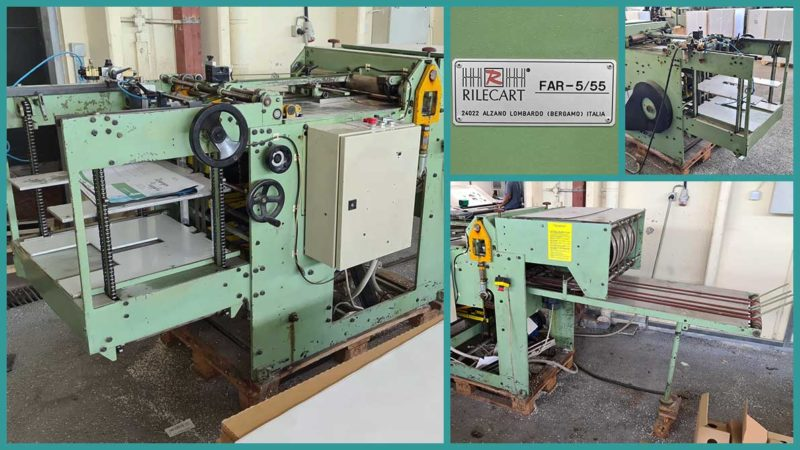 automatic punch Rilecart FAR 5/55 (used)