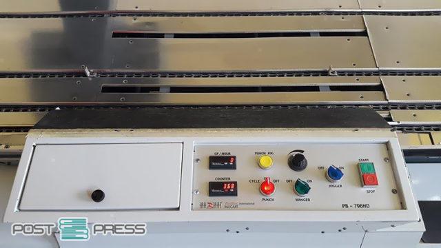 пефрорация + wire-O навивка Rilecart PB-796 HD MK3 (2007)