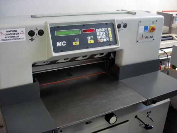 одноножевая бумагорезательная машина SEM FL-58 MC