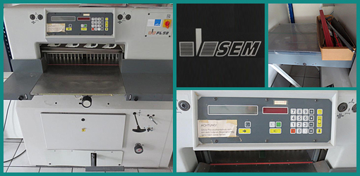 продам резак для бумаги SEM FL-58, 2000 год