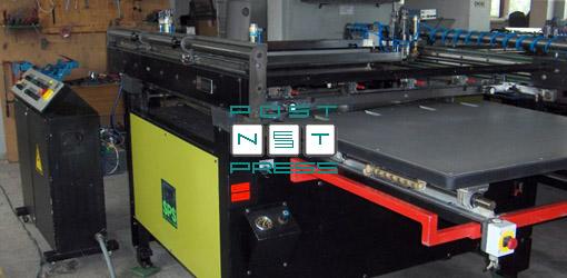 шелкотрафаретный станок 3/4 автомат SPS Uniflex формат B1