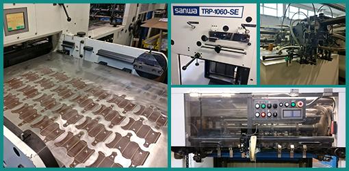 Автоматический высекальный пресс Sanwa TRP-1060-SE, 2003 год,