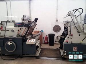 автоматический тигель для тиснения фольгой Saroglia FUB-D (1995)