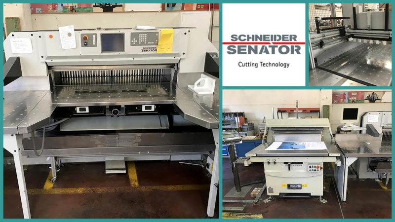 бумагорезальная линия Schneider Senator S-Line 137H (2006 год)