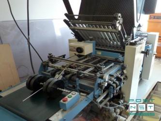 кассетно-ножевая фальцевальная машина Shoei Star SPT 52-4 K (1996)
