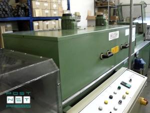 термотоннель для поштучной упаковки в плёнку вкладов (Sitma 750)