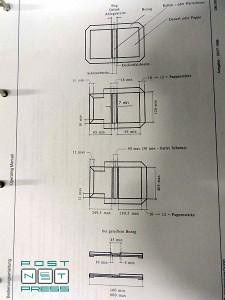 формат переплетной крышки изготавливаемой на Stahl VBF DM 300-2