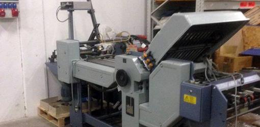 кассетно-ножевая фальцовка Stahl Ti 52 4 (1997 год выпуска)