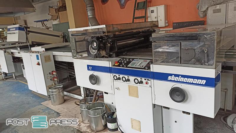 surface coating machine Steinemann Colibri 72 (age 2000)
