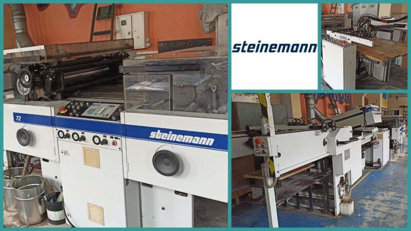 Steinemann Colibri 72 UV Surface Coating Machine (2000)