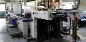 машина для выборочной УФ-лакировки Steinemann HIBIS 104