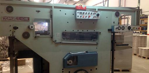 штанцевальный пресс TMZ-106, 1982 года выпуска