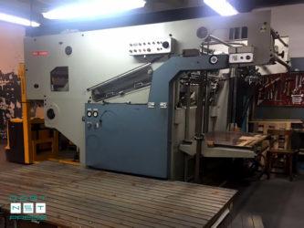автоматический высекательный пресс TMZ 4500 (Испания)