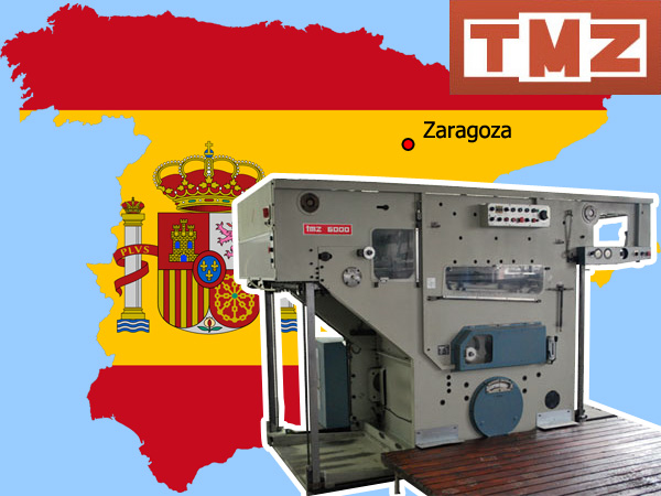 автоматический высекальный пресс TMZ 6000 (Unicutter 6000)