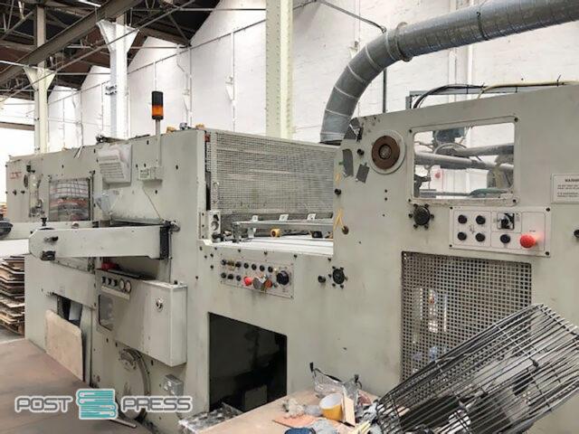автоматический высекальный пресс TMZ EWT-106 (1999 год)