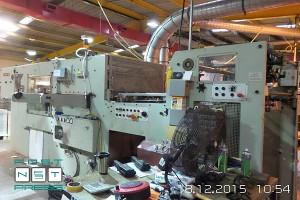 штанцевальный автомат TMZ EWT-106 (Испания, б/у)