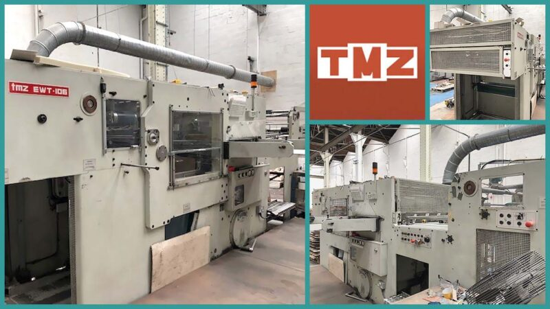 automatic die-cutting TMZ EWT-106 (age 1999)