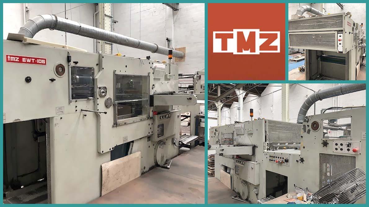 automatic die-cutting TMZ EWT-106 (age 1999)