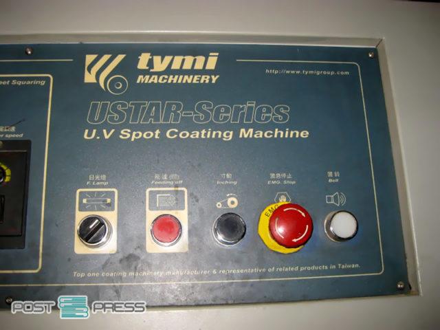 линия для выборочного лакирования УФ Tymi USTAR-36W (A0), 2007 год