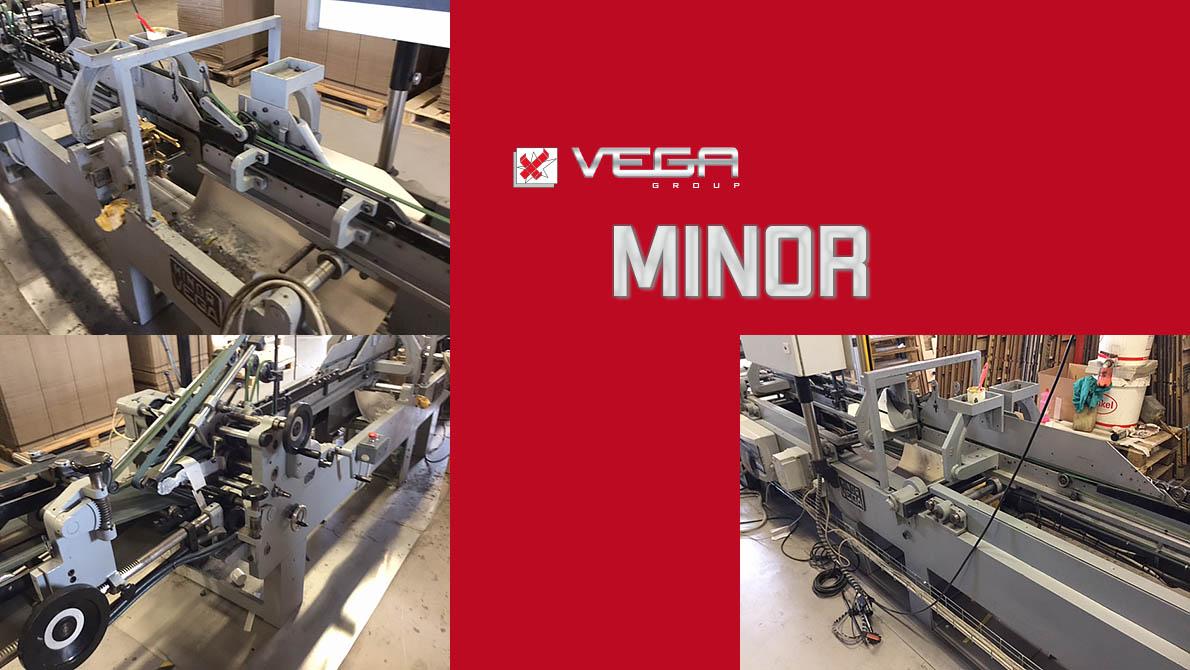 фальцевально-склеивающая линия VEGA Minor 350