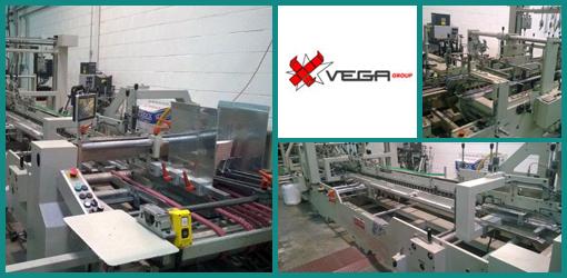 фальцевально-склеивающая машина (ФСМ) Vega Pegaso 110, 2001 год выпуска