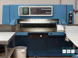 одноножевая бумагорезательная машина Wohlenberg 115 MCS-2TV (1992)