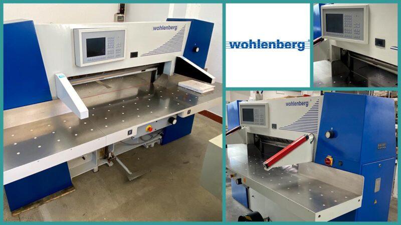 paper cutter Wohlenberg 115 cut-tec (1998)