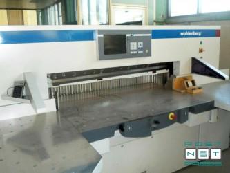гильотина Wohlenberg 137 pro-tec, 2009 год