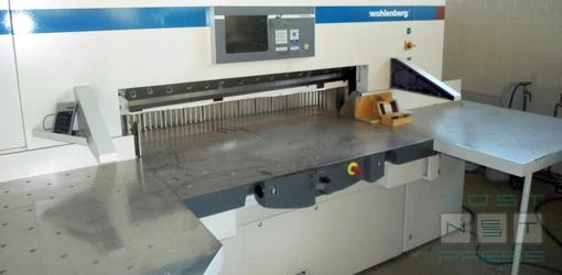 высокоскоростная бумагорезальная машина Wohlenberg 137 pro-tec (2009 г.в.)