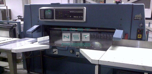 гильотина Wohlenberg 155 MCS-3 TV, 1988 год