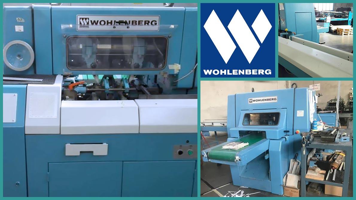 машина трёхножевой обрезки Wohlenberg 44 FM 50 (1990 год)