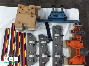 комплект ножей для трехножевой машины Wohlenberg 44 FM 50
