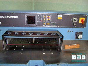 гильотина Wohlenberg 76 SPM (программатор)