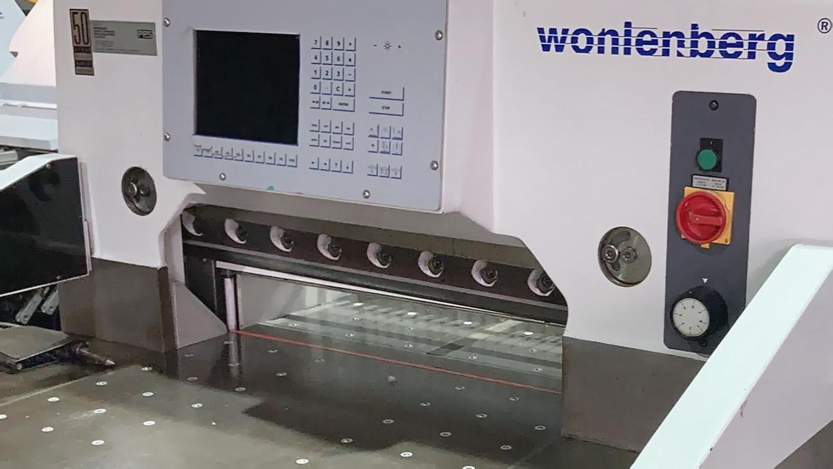 used paper cutter Wohlenberg cut-tec 76 (1998)