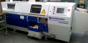 б/у термоклевой биндер Wohlenberg Quickbinder (2003 г.в.)